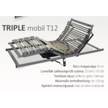 Triple Mobil T12 (42) ágyrács
