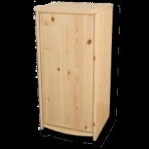 Andi 1 ajtós borovi fenyő komód 106 cm magas