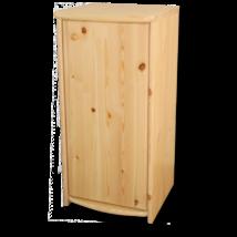 Andi 1 ajtós borovi fenyő komód 73 cm magas