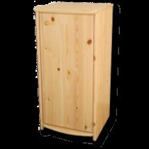 Andi 1 ajtós borovi fenyő komód 90 cm magas