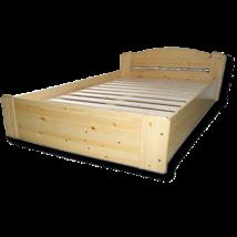 Tamara ágyneműtartós fenyő ágykeret