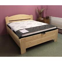 Tamara plusz ágyneműtartós fenyő ágykeret