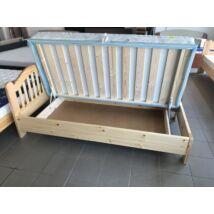 Reni fenyő ágyneműtartó ágykeret