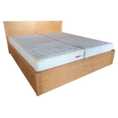 Dorottya bükk ágyneműtartós ágykeret rugalmas ráccsal 90x200