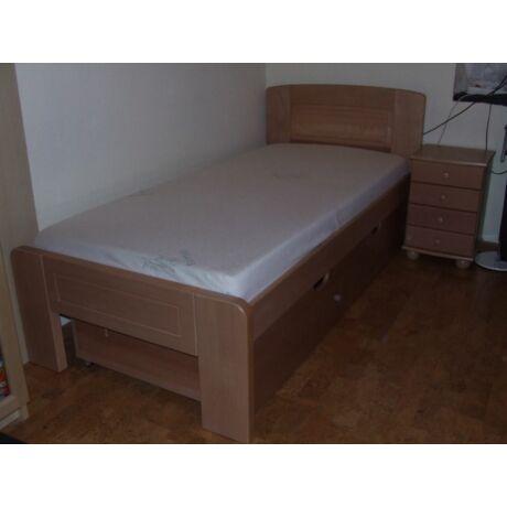 Genf natúr bükk ágykeret 90x200