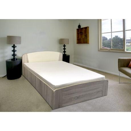 Grácia ágyneműtartós ágykeret sonoma tölgy 160x200