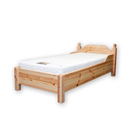 Riva ágy   alacsony lábvéges 90x200 bordával