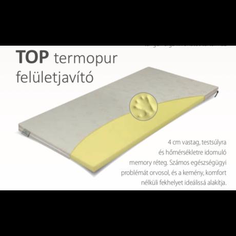 Top Termopur fedőmatrac 180x200x4