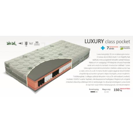 Luxury Class Pocket matrac 140x200